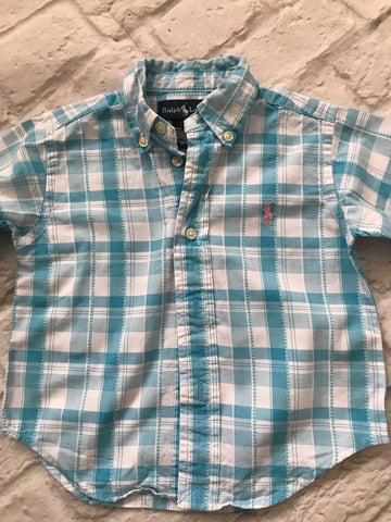 12 month Ralph Lauren Long Sleeve Shirt