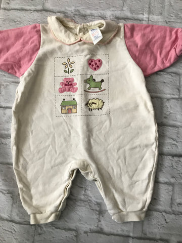 3-6 Months Boots Playsuit