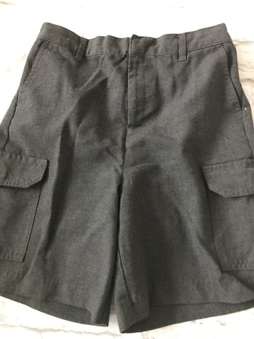 Age 8 School Grey Shorts BHS