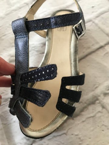 Size 12.5 Navy Clarke's Wedges
