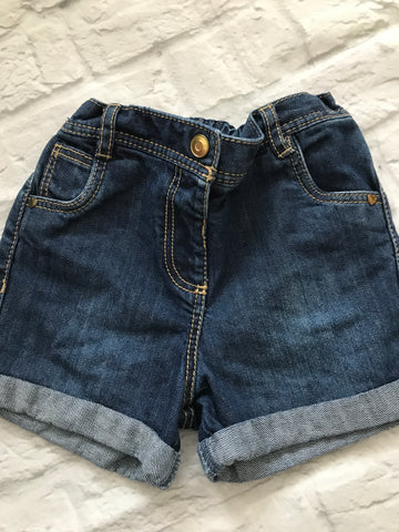 18-24 Months Denim Shorts