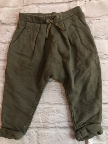 6-9 Months Khaki Next Trousers