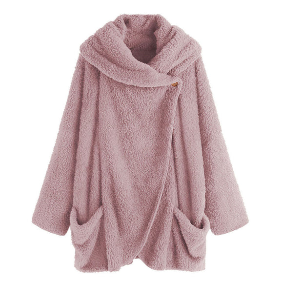 Oversized  Sherpa Fluffy Sweaters