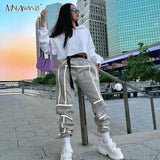 Reflective Stripe  Women Streetwear
