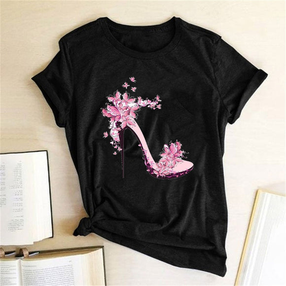 Fashion  Graphic  Women Print T-shirt