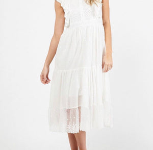 Brodie Dress - White