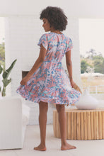 Load image into Gallery viewer, Faithful Mini Dress - Rainbow Sherbet