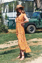 Load image into Gallery viewer, Ina Maxi Dress - Saffron