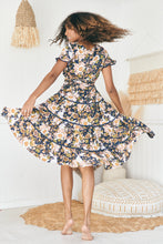 Load image into Gallery viewer, Joselyn Midi Dress - Rosetta