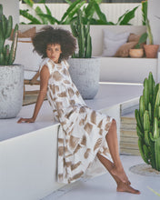 Load image into Gallery viewer, Juicy Maxi Dress - Ivory Palm Springs