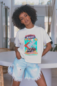 Moonage Magic - Boyfriend Tee (Off White)