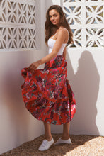 Load image into Gallery viewer, Dewdrop Skirt - Moulin Rouge
