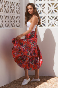 Dewdrop Skirt - Moulin Rouge