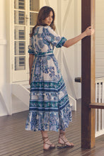 Load image into Gallery viewer, Murano Maxi Dress - Blue Bird