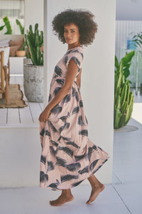 Sunny Maxi Dress - Dusty Rose Palm Springs