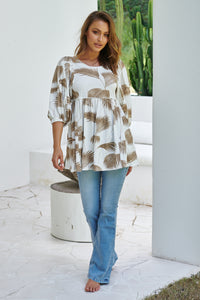 Tami Tunic - Ivory Palm Springs