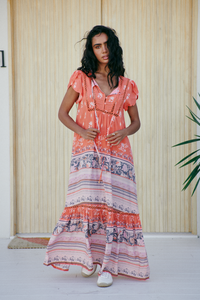 Valerie Dress - Tropic Tonic