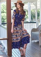 Load image into Gallery viewer, Murano Maxi Dress - Royal