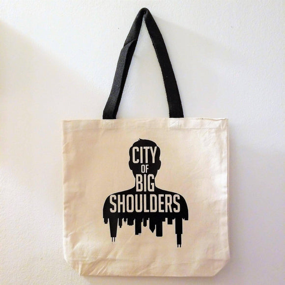 City of Big Shoulders Tote Bag