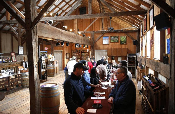 Historic tasting room. Open 7 days a week, 12p-5p