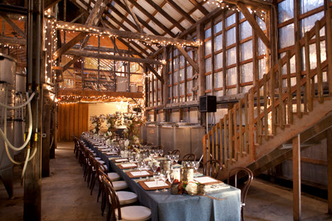 Host a party on the winery floor