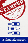 "STAMPED Wine Club - 3 Bottles ""LIKE IT"""