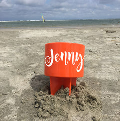 Customized Beach Buddy Cup Holder