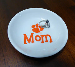 Clemson Mom ring dish
