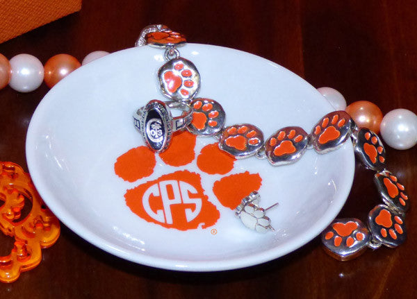 Monogram Paw ring dish