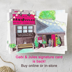 Gabi & Jules Signature Card
