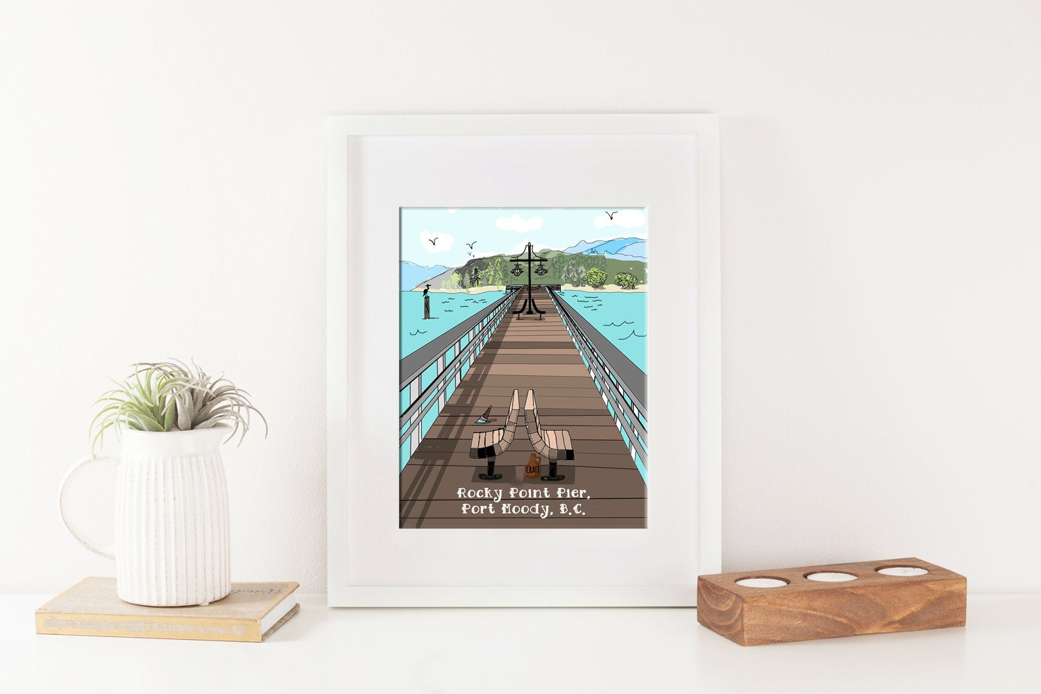 Port Moody Rocky Point Pier PRINT