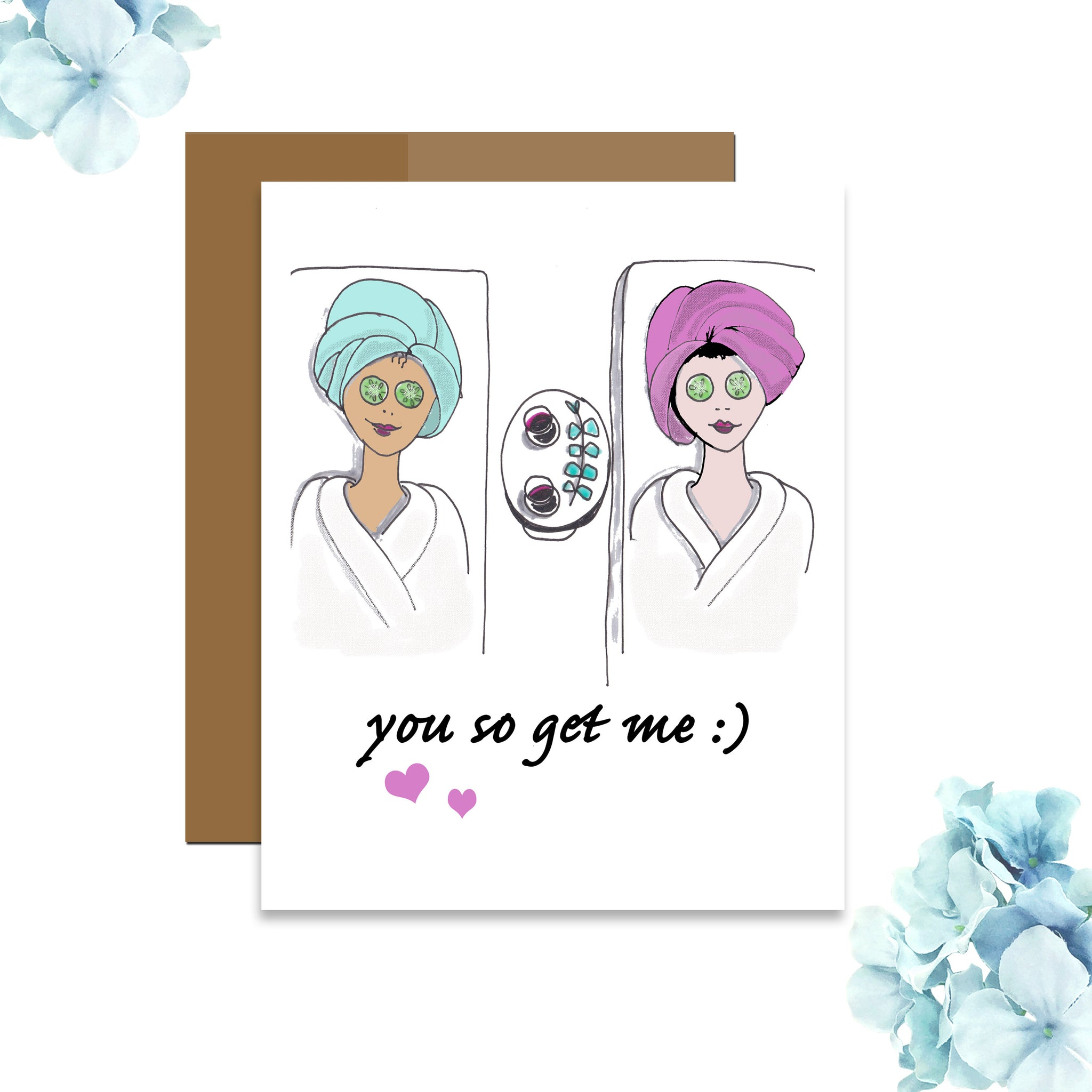 You So Get Me Card