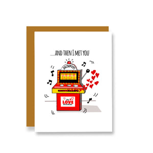 Jackpot - and Then I Met You Card