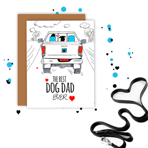 Best Dog Dad Ever - Truck