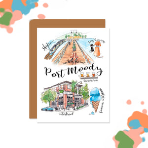 Port Moody Collage Card