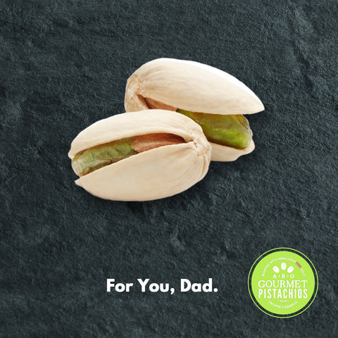 Father's Day Gifts Gourmet Pistachio Nuts Gifts for Dad