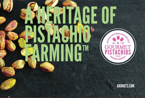 ARO Pistachios, family-farmed heirloom pistachio nuts, full-service pistachio processor, Terra Bella, California