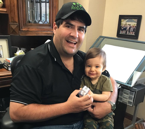 CEO Adam Orandi and Son