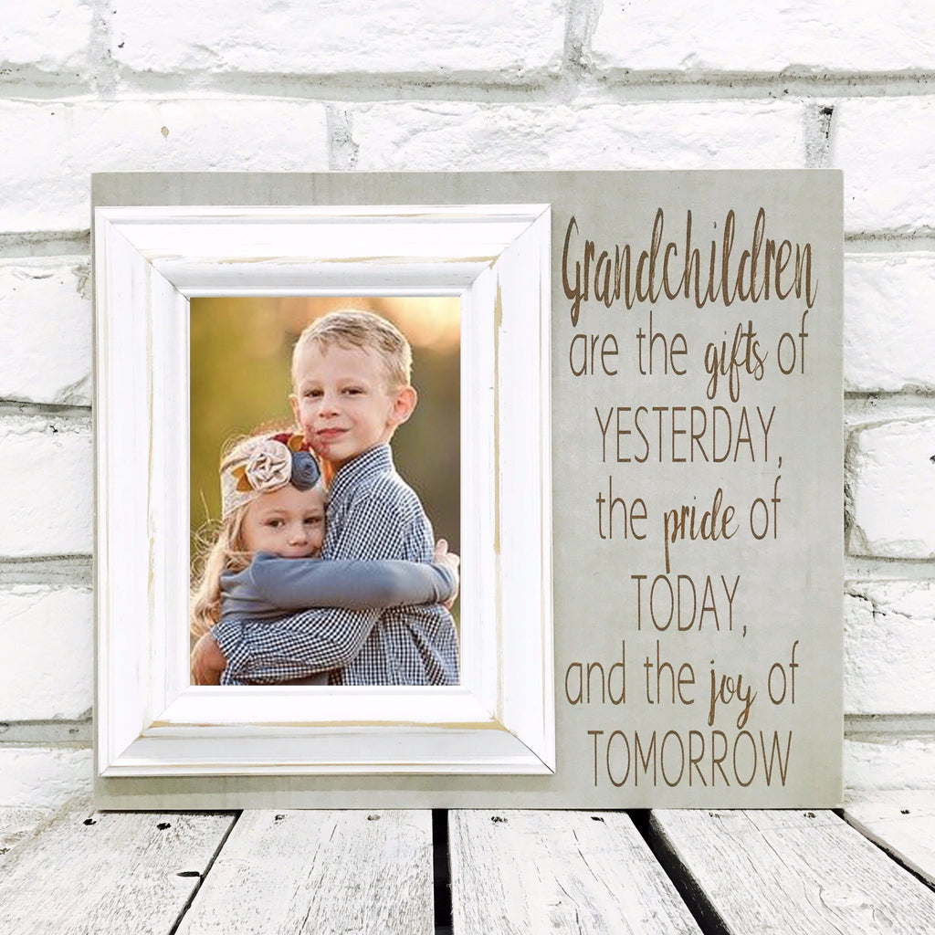 Grandchildren Are the Gifts of Yesterday\