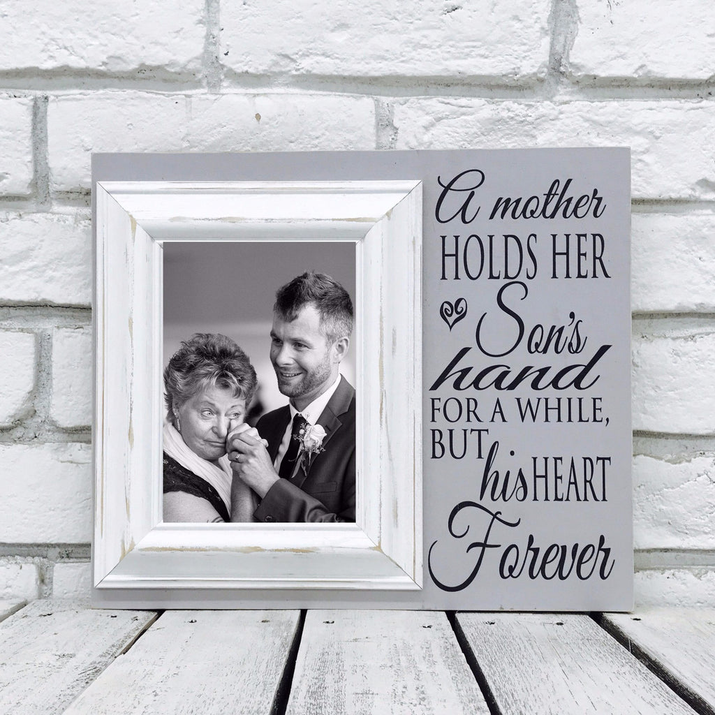 A Mother Holds Her Sons Hand 12 x 14 Picture Frame- Wood | Madi Kay ...