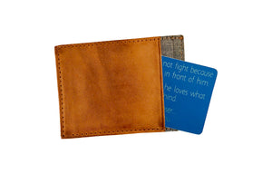 Personalized Deployment Gift Wallet Card