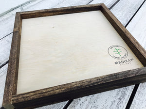 """Cling To What is Good"" Wooden Sign"