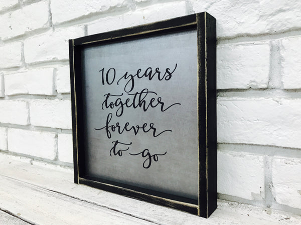 10 Years Together Tin