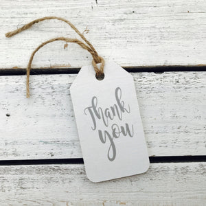 """Thank You"" Gift Tag"