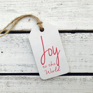 Joy To The World Tag