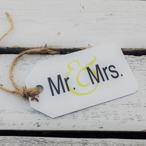 Mr and Mrs Tin Tag