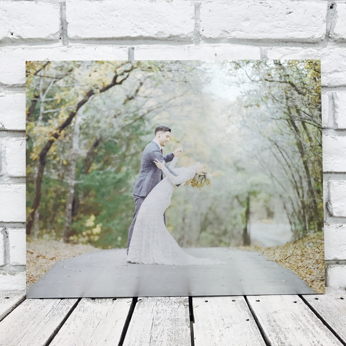 Wedding Engagement Photography- Tin Wedding Gift for the couple