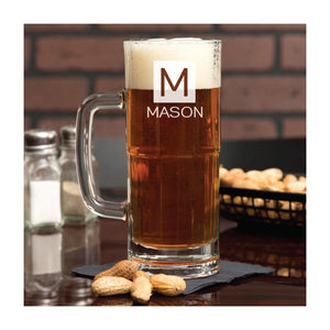 Personalized Engraved 22 oz. Beer Mug with Name