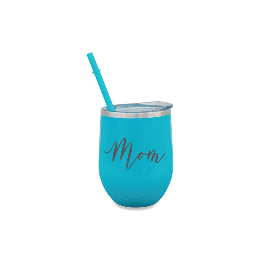 Personalized Wine Tumbler for Mother 12 oz Travel Mug