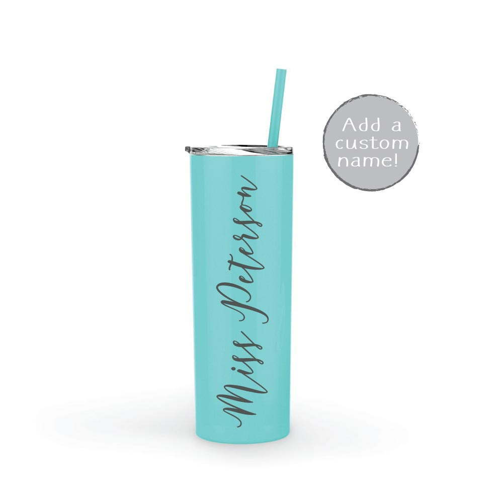 Personalized 20 oz Teacher Tumbler Gift